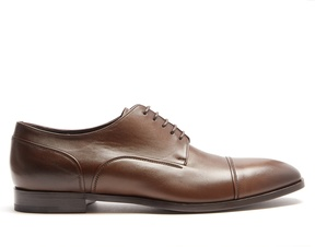 Ermenegildo Zegna Riccardo leather derby shoes