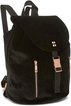 Sweaty Betty Velvet Backpack