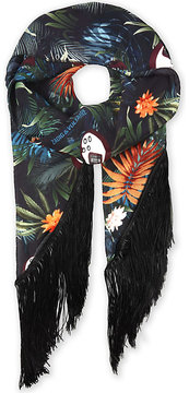 Zadig & Voltaire Fringes Jungle scarf
