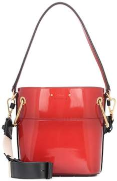 Chloé Roy patent leather bucket bag