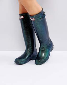 Hunter Neptune Starcloud Tall Wellington Boots