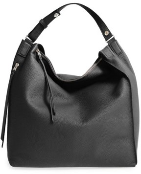 AllSaints Kita Convertible Leather Backpack - Black