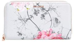 Ted Baker Byra Babylon Print Leather Matinee Wallet
