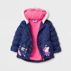 Peppa Pig Toddler Girls' Puffer Jacket