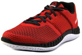Reebok Zprint Run Youth Round Toe Synthetic Red Running Shoe.