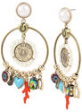 Lucky Charms Gypsy Hoop Earrings