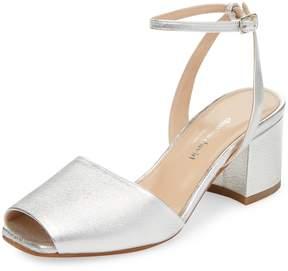 Charles David Women's Cube Leather Sandal