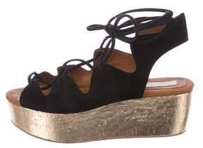 See by Chloe Suede Platform Sandals