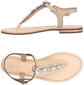 Geox Toe strap sandals