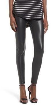 BP Women's Faux Leather Leggings