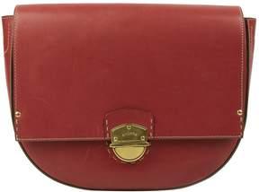 Ghurka Red Leather Handbag