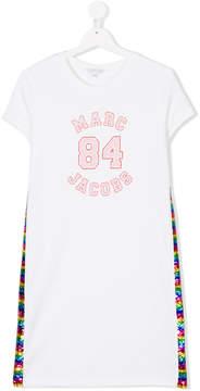 Little Marc Jacobs sequinned T-shirt dress