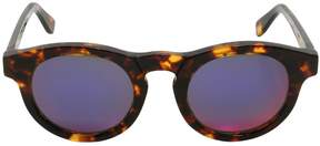 Super Boy Tortoiseshell Round Sunglasses