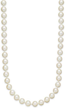 Charter Club Kiska Imitation Pearl 24 Inch Strand Necklace (8mm)
