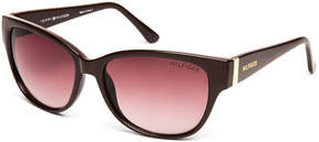 Tommy Hilfiger Brown Natalie Cat Eye Sunglasses