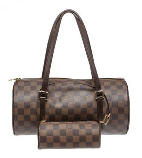 Louis Vuitton Papillon cloth satchel - BROWN - STYLE