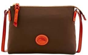 Dooney & Bourke Nylon Crossbody Pouchette Shoulder Bag - BROWN TMORO - STYLE