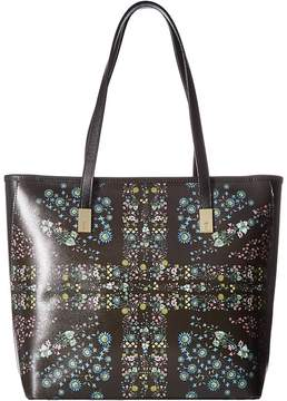 Ted Baker Unity Floral Leather Shopper Handbags