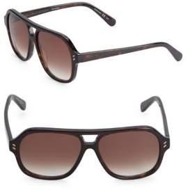 Stella McCartney Stella Mccartine Classic 55mm Sunglasses
