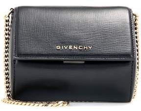 Givenchy Pandora Box Micro leather shoulder bag