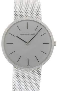 Audemars Piguet 18K White Gold 1962 33mm Manual Mens Watch