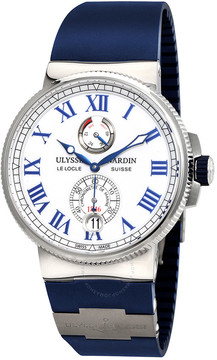 Ulysse Nardin Marine Chronometer White Lacquered Dial Automatic Men's Watch