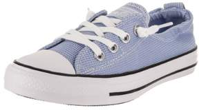 Converse Chuck Taylor All Star Shoreline Slip Blue Chill/White Black Casual Shoe 5.5 Women US