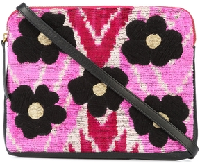 Lizzie Fortunato Safari Flower Clutch