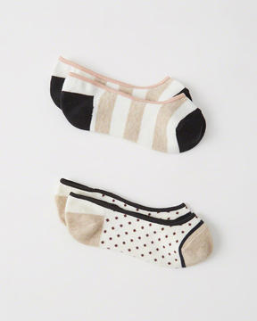 Abercrombie & Fitch No-Show Socks