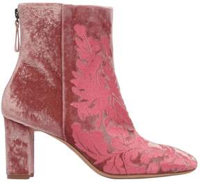Alexandre Birman 70mm Regina Floral Velvet Boots