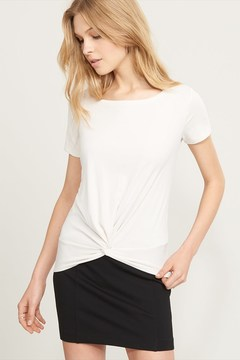 Dynamite Knotted Ribbed Tee