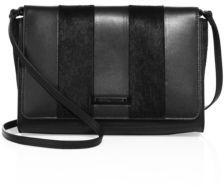 KENDALL + KYLIE Bobino Leather & Calf Hair Shoulder Bag