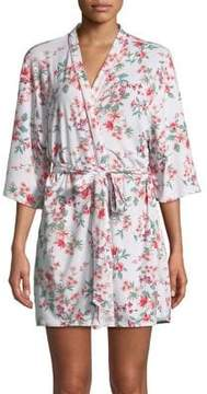 Flora Nikrooz Flora By Cropped Floral Robe