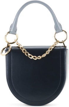 Sacai half moon shoulder bag