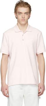 Rag & Bone Pink Pique Polo