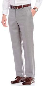 Daniel Cremieux Modern Fit Flat Front Solid Dress Pants