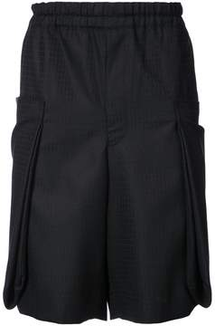 Comme des Garcons tailored patterned shorts