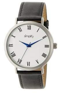 Simplify Men's The 2900 Quartz Watch.