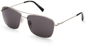 Montblanc MB 548S-F Silver-Tone Navigator Sunglasses