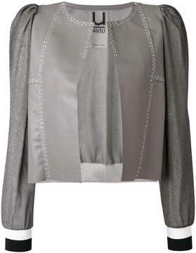 Aviu cropped panel jacket