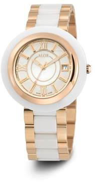 Alor CAVO Mop White Dial 37mm Womens Watch