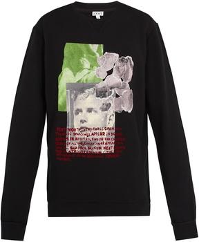 Loewe Oversized cotton-jersey sweatshirt