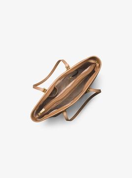 MICHAEL Michael Kors Jet Set Travel Medium Saffiano Leather Top-Zip Tote
