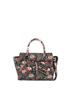 Rebecca Minkoff Jamie Small Floral Leather Satchel Bag - MULTI - STYLE