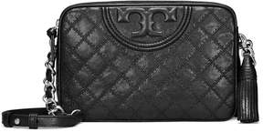 Tory Burch FLEMING DISTRESSED LEATHER CAMERA BAG
