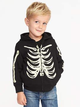Old Navy Glow-in-the-Dark Skeleton Hoodie for Toddler Boys