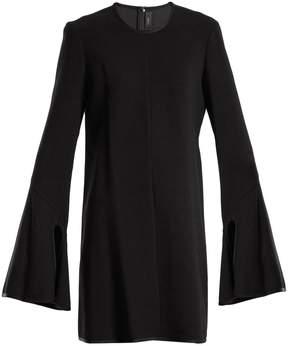 Ellery Preacher long-sleeved crepe dress