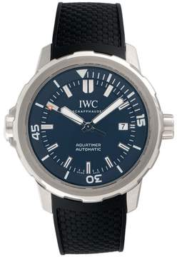 IWC Aquatimer IW329005 Stainless Steel & Blue Dial Automatic 42mm Mens Watch