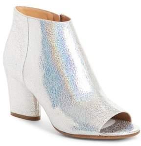 Maison Margiela Metallic Open Toe Ankle Boot