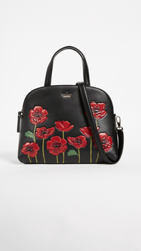 Kate Spade Ooh La La Poppy Lottie Satchel - MULTI - STYLE
